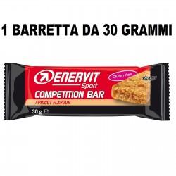 ENERVIT SPORT COMPETITION 1 BARRETTA DA 30 GRAMMI Barrette Proteiche e Energetiche