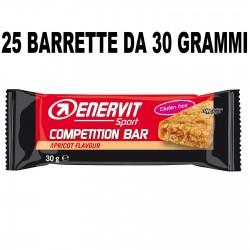 ENERVIT SPORT COMPETITION 25 BARRETTE DA 30 GRAMMI Barrette Proteiche e Energetiche