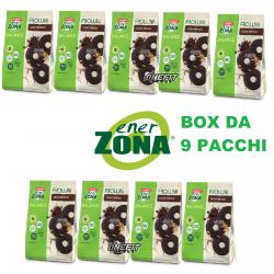 ENERZONA FROLLINI 40-30-30 da 250 grammi DIETA A ZONA Scatola da 9 pezzi  Biscotti Proteici