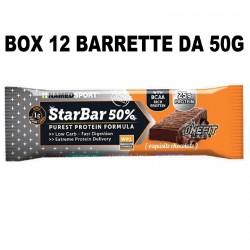 NAMED SPORT STARBAR 12 BARRETTE DA 50 GRAMMI Barrette Proteiche e Energetiche