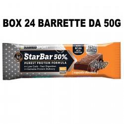 NAMED SPORT STARBAR 24 BARRETTE DA 50 GRAMMI Barrette Proteiche e Energetiche