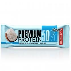 NUTREND PREMIUM PROTEIN 50% 1 BARRETTA DA 50 GRAMMI Barrette Proteiche e Energetiche