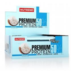 NUTREND PREMIUM PROTEIN 50% 16 BARRETTE DA 50 GRAMMI Barrette Proteiche e Energetiche