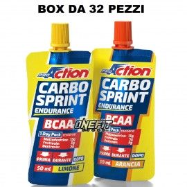 PROACTION CARBO SPRINT BCAA 32 PEZZI DA 50 ML Carbogel