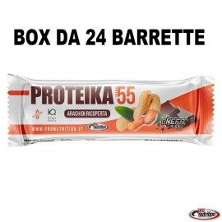 ProNutrition 24 Barrette Proteika 55 con glutamina vitamine e creatina  Barrette Proteiche e Energetiche