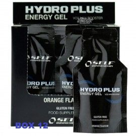 Self Omninutrition Hydro Plus Energy gel box da 12 bustine da 40g. Sali Minerali Potassio e Magnesio Vitamine Carbogel