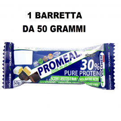 Volchem Promeal DietaZona 40-30-30 barretta proteica 1X50gr Pasto Sostitutivo  Barrette Proteiche e Energetiche