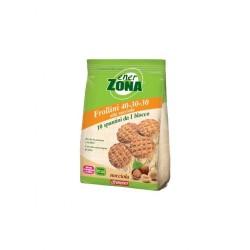 ENERZONA FROLLINI 40-30-30 da 250 grammi Gusto NOCCIOLA Biscotti Proteici