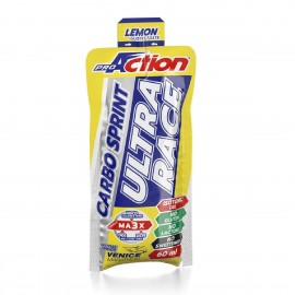 PROACTION CARBO SPRINT ULTRA RACE 1 STICK DA 60 ML GUSTO LIMONE Pre e Intra Work Out
